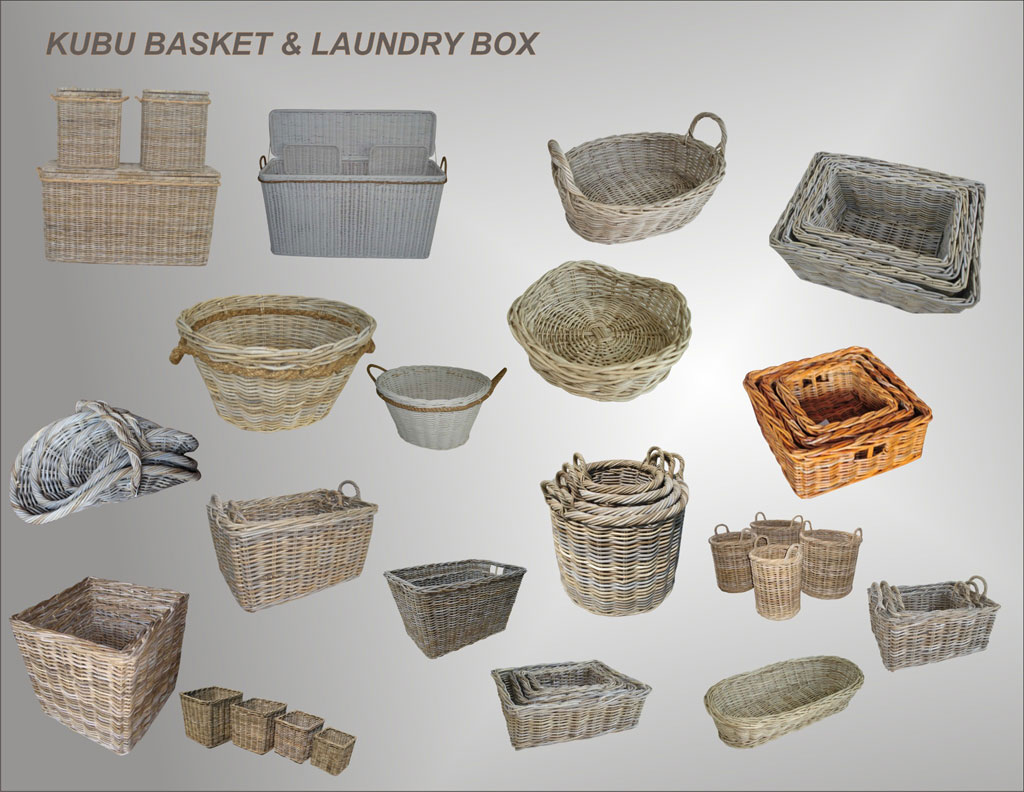 Basket and Laundry Box